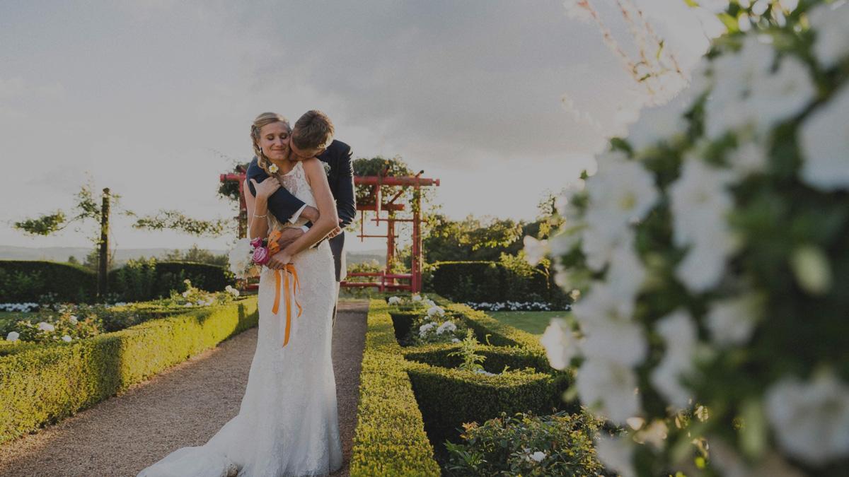 Nicolas Ravinaud photographe mariage à Périgueux en Dordogne Jardins du manoir d'Eyrignac Alizée et Anthony