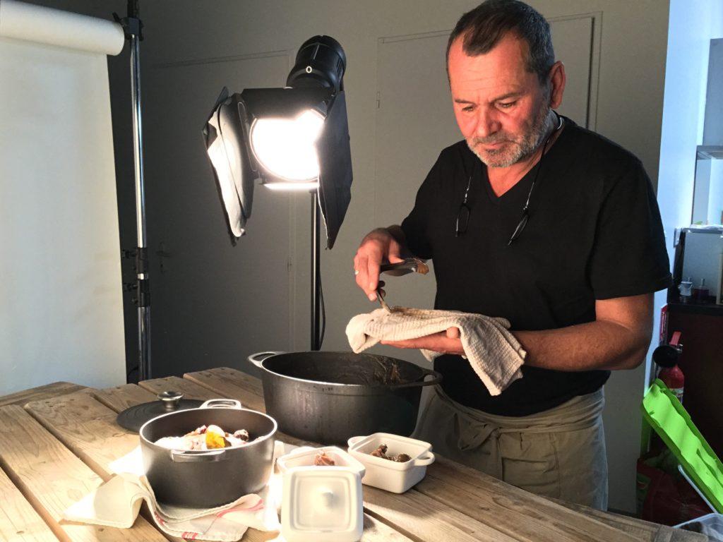stage photo culinaire périgueux nicoals ravinaud photographe philippe mesuron masterchef