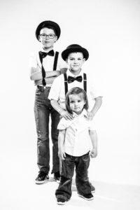 séance photo studio enfants Nicolas Ravinaud photographe Périgueux Dordogne